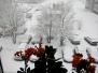 22.04.2017 г. Сказочный снегопад в гор. Волосово